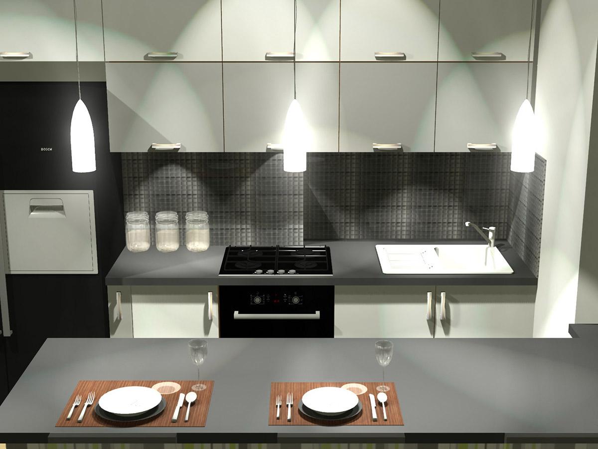 Projekty kuchni i mebli kuchennych - Komodo